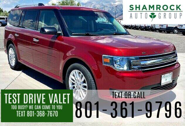 2018 Ford Flex for sale at Shamrock Group LLC #1 in Pleasant Grove UT