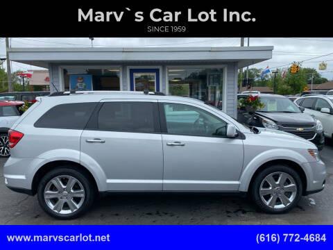 2014 Dodge Journey for sale at Marv`s Car Lot Inc. in Zeeland MI