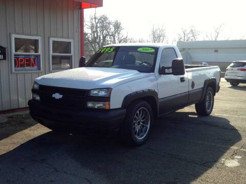 2007 Chevrolet Silverado 1500 Classic for sale at Midwest Auto & Truck 2 LLC in Mansfield OH