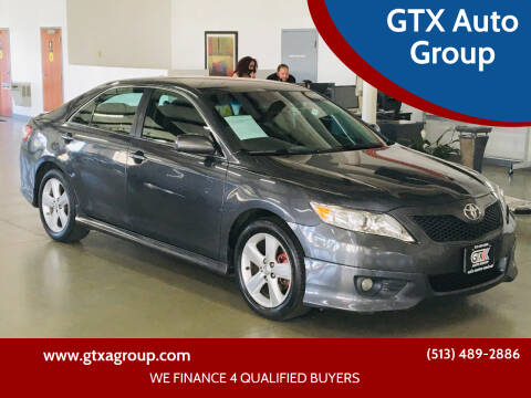 2010 Toyota Camry for sale at GTX Auto Group in West Chester OH