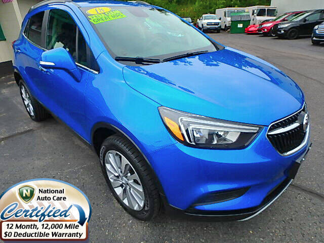 2018 Buick Encore for sale at Jon's Auto in Marquette MI