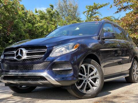 2016 Mercedes-Benz GLE for sale at HIGH PERFORMANCE MOTORS in Hollywood FL