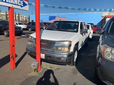 2004 GMC Canyon for sale at VR Automobiles in National City CA