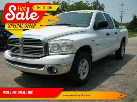 2008 Dodge Ram Pickup 1500 for sale at MIKES AUTOMALL INC in Ingleside IL