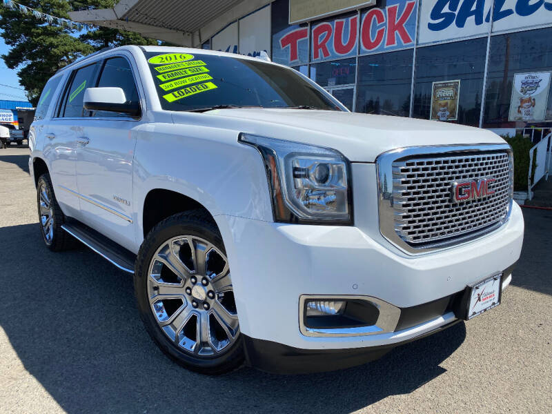 2016 GMC Yukon for sale at Xtreme Truck Sales in Woodburn OR