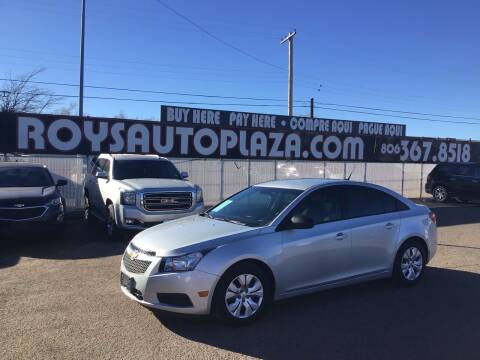 2014 Chevrolet Cruze for sale at Roy's Auto Plaza 2 in Amarillo TX