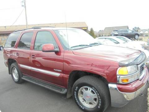 2001 GMC Yukon for sale at Engels Autos Inc in Ramsey MN