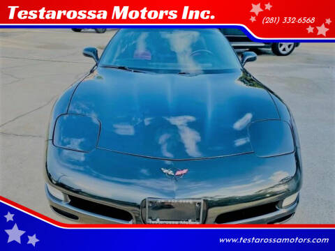 2000 Chevrolet Corvette for sale at Testarossa Motors Inc. in League City TX