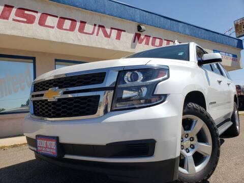 2016 Chevrolet Suburban for sale at Discount Motors in Pueblo CO