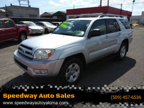 2003 Toyota 4Runner for sale at Speedway Auto Sales in Yakima WA
