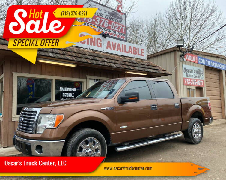 2011 Ford F-150 for sale at Oscar's Truck Center, LLC in Houston TX