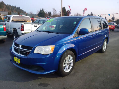 2013 Dodge Grand Caravan for sale at KENT GRAND AUTO SALES LLC in Kent WA