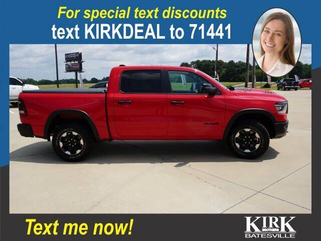 2021 RAM Ram Pickup 1500 for sale at Kirk Brothers Batesville in Batesville MS