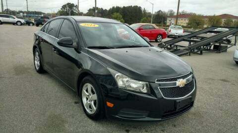2014 Chevrolet Cruze for sale at Kelly & Kelly Supermarket of Cars in Fayetteville NC