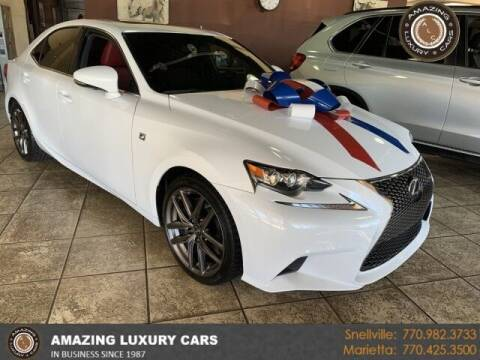 2016 Lexus IS 350 for sale at Amazing Luxury Cars in Snellville GA