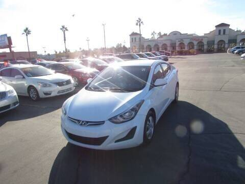 2016 Hyundai Elantra for sale at Charlie Cheap Car in Las Vegas NV