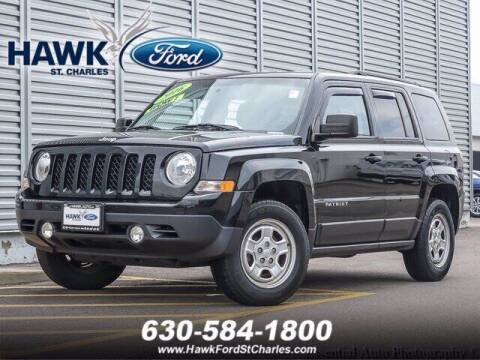 2016 Jeep Patriot for sale at Hawk Ford of St. Charles in Saint Charles IL