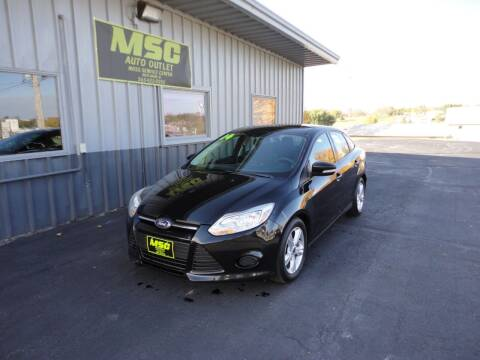 2014 Ford Focus for sale at Moss Service Center-MSC Auto Outlet in West Union IA