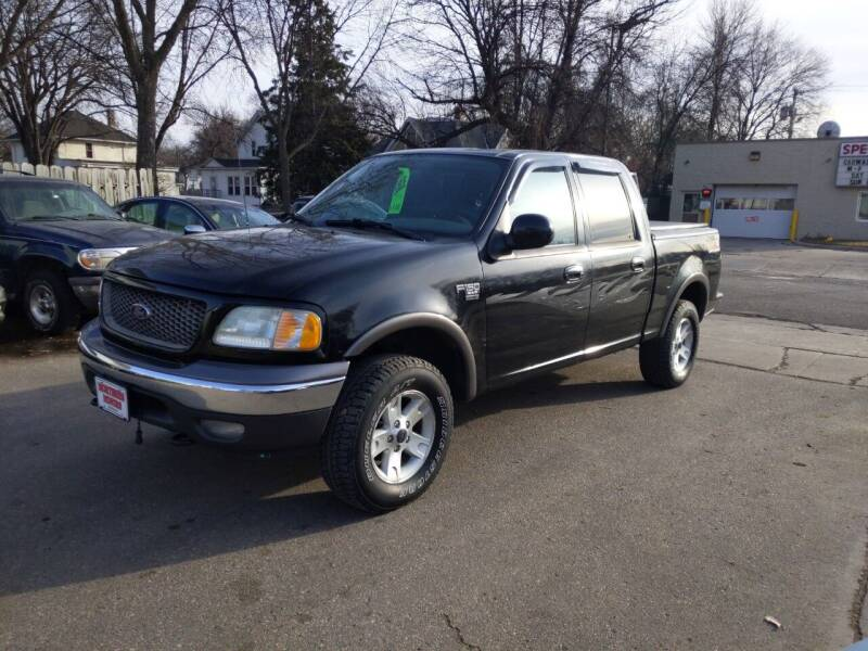 2003 Ford F-150 for sale at NORTHERN MOTORS INC in Grand Forks ND