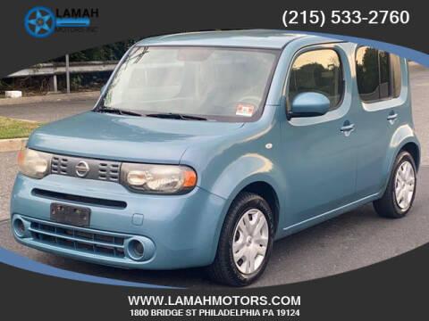 2011 Nissan cube for sale at LAMAH MOTORS INC in Philadelphia PA