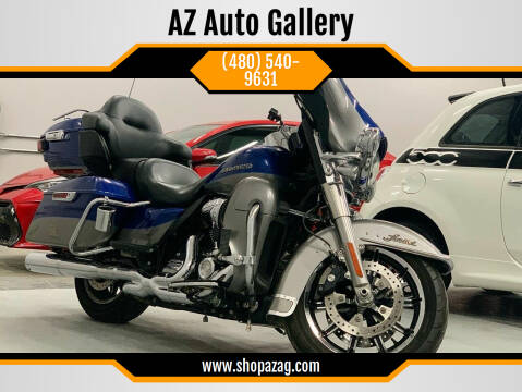 2017 Harley Davidson Ultra Limited for sale at AZ Auto Gallery in Mesa AZ