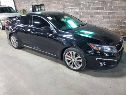2015 Kia Optima for sale at Affordable Mobility Solutions, LLC - Standard Vehicles in Wichita KS