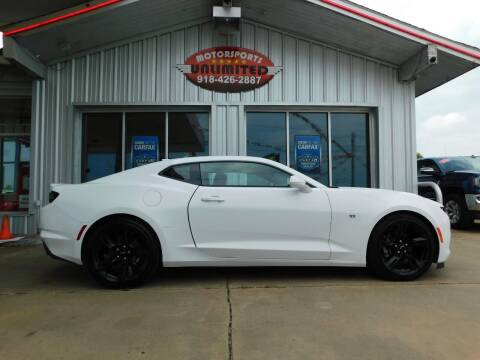 2020 Chevrolet Camaro for sale at Motorsports Unlimited in McAlester OK