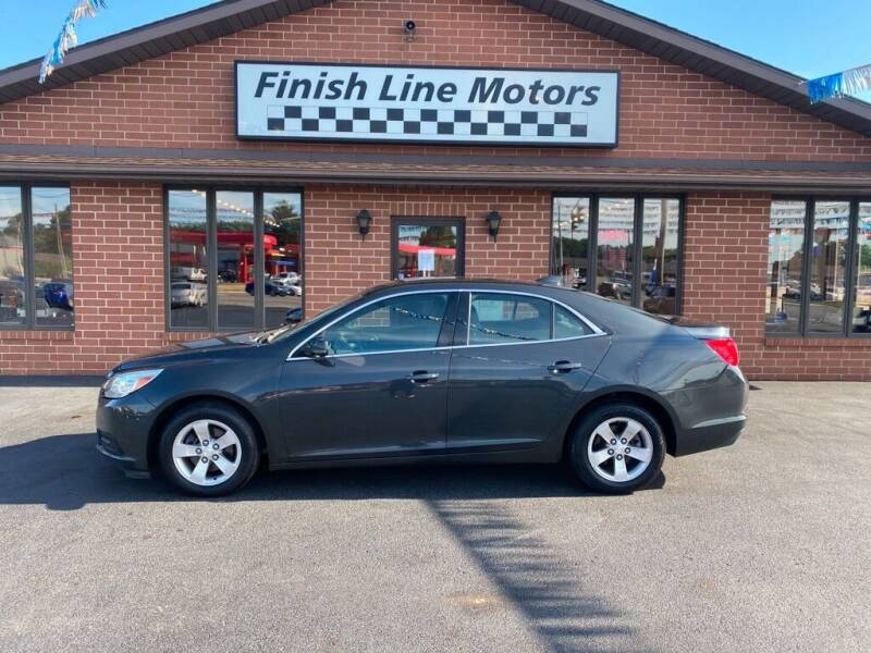 2015 Chevrolet Malibu for sale at FINISHLINE MOTORS in Canton OH