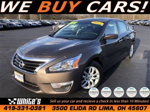 2013 Nissan Altima for sale at White's Honda Toyota of Lima in Lima OH