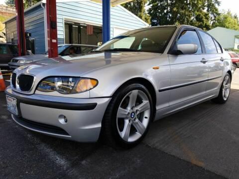 2004 BMW 3 Series for sale at Shoreline Family Auto Care And Sales in Shoreline WA