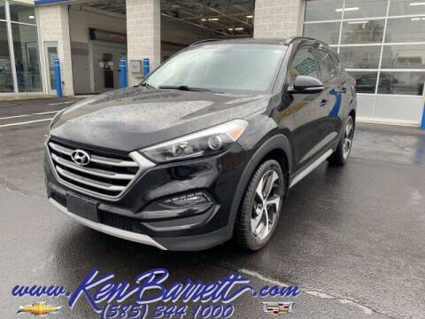 2018 Hyundai Tucson for sale at KEN BARRETT CHEVROLET CADILLAC in Batavia NY