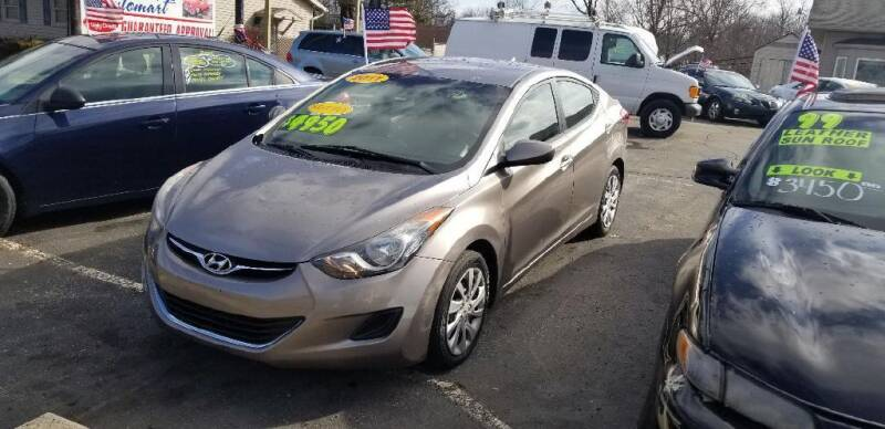 2011 Hyundai Elantra for sale at EZ Drive AutoMart in Springfield OH