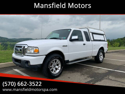 2010 Ford Ranger for sale at Mansfield Motors in Mansfield PA