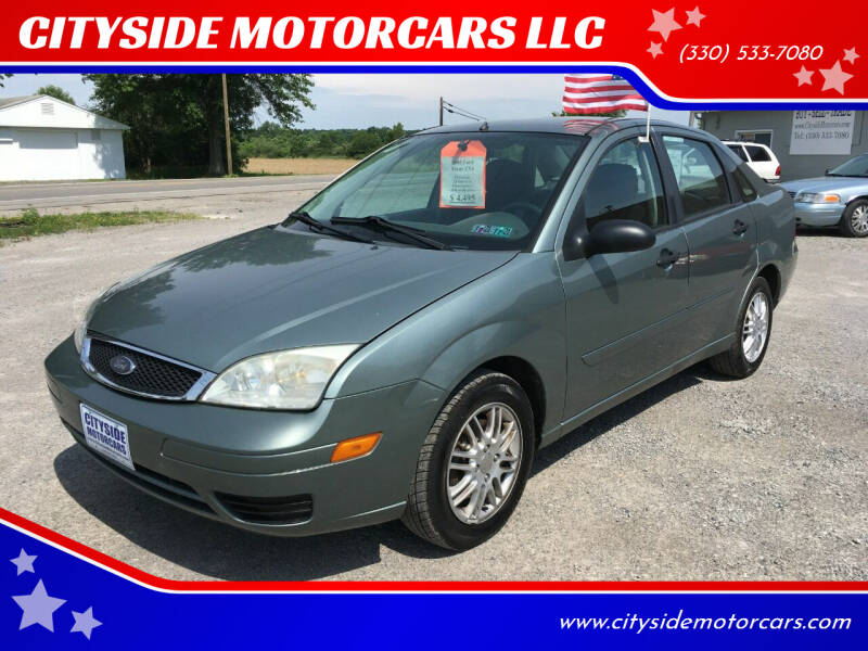 2005 Ford Focus for sale at CITYSIDE MOTORCARS LLC in Canfield OH