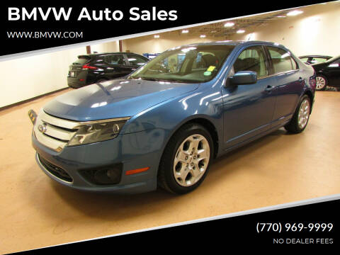 2010 Ford Fusion for sale at BMVW Auto Sales in Union City GA