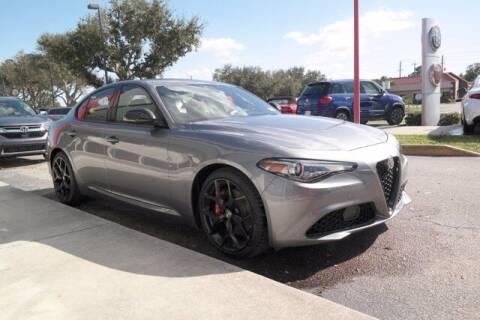 2020 Alfa Romeo Giulia for sale at GATOR'S IMPORT SUPERSTORE in Melbourne FL