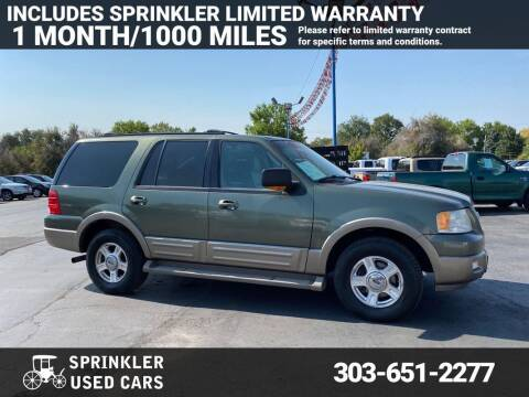 2004 Ford Expedition for sale at Sprinkler Used Cars in Longmont CO