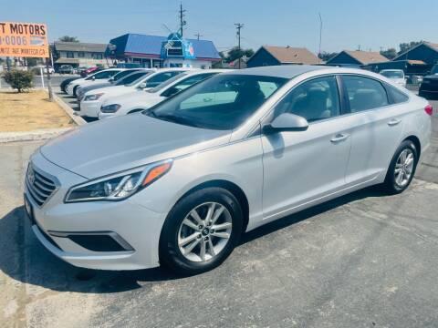 2017 Hyundai Sonata for sale at Sunset Motors in Manteca CA