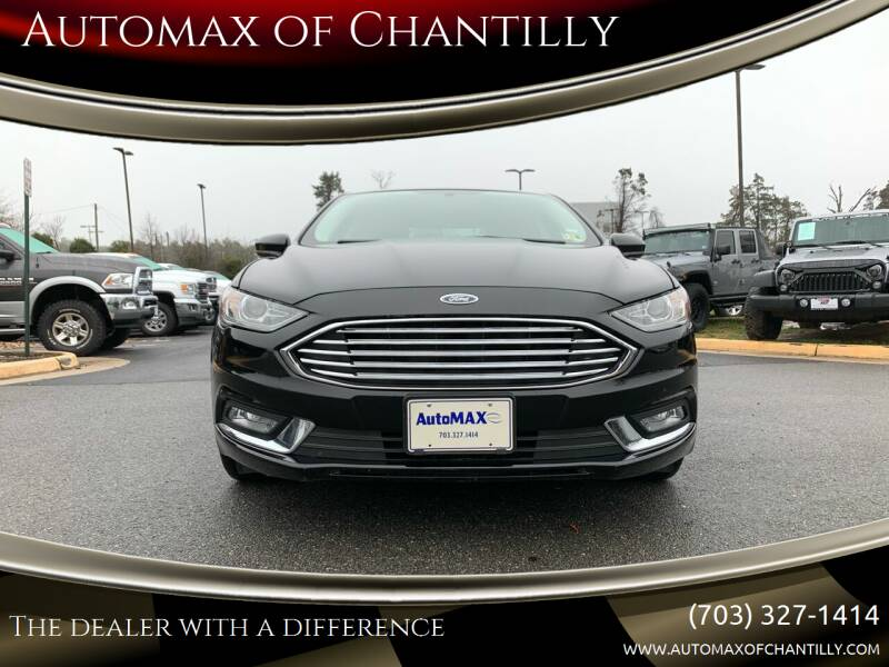 2018 Ford Fusion Hybrid for sale at Automax of Chantilly in Chantilly VA