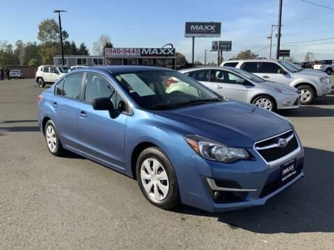 2016 Subaru Impreza for sale at Maxx Autos Plus in Puyallup WA