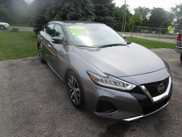 2020 Nissan Maxima for sale at VALERI AUTOMOTIVE in Winthrop Harbor IL