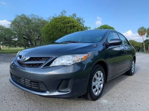2011 Toyota Corolla for sale at FLORIDA MIDO MOTORS INC in Tampa FL
