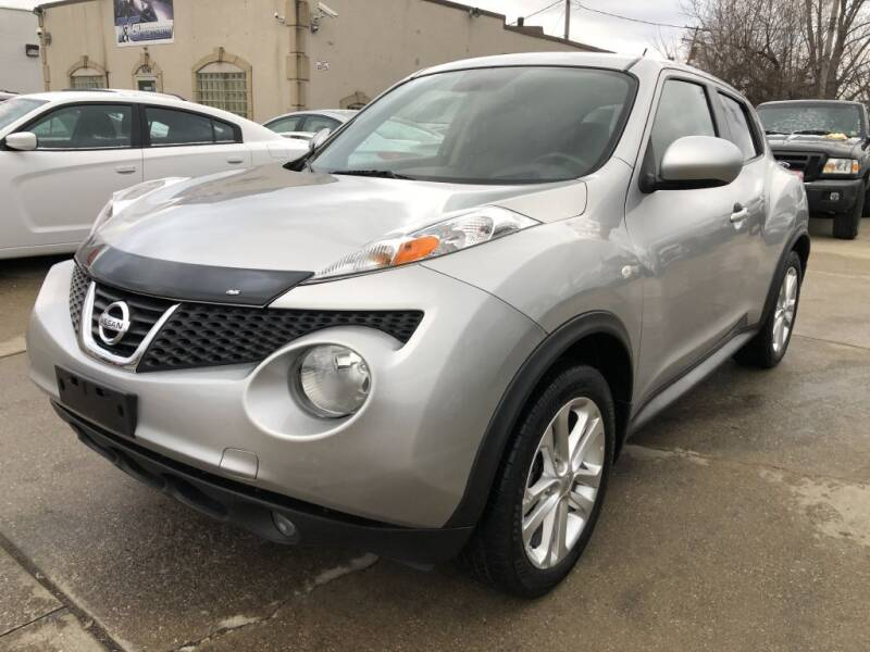 2012 Nissan JUKE for sale at T & G / Auto4wholesale in Parma OH