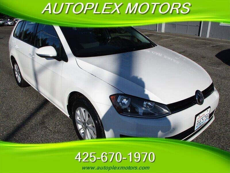 2016 Volkswagen Golf SportWagen for sale at Autoplex Motors in Lynnwood WA