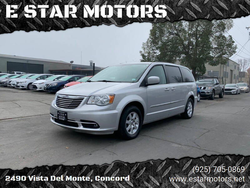 2012 Chrysler Town and Country for sale at E STAR MOTORS in Concord CA