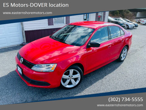 2013 Volkswagen Jetta for sale at ES Motors-DAGSBORO location - Dover in Dover DE