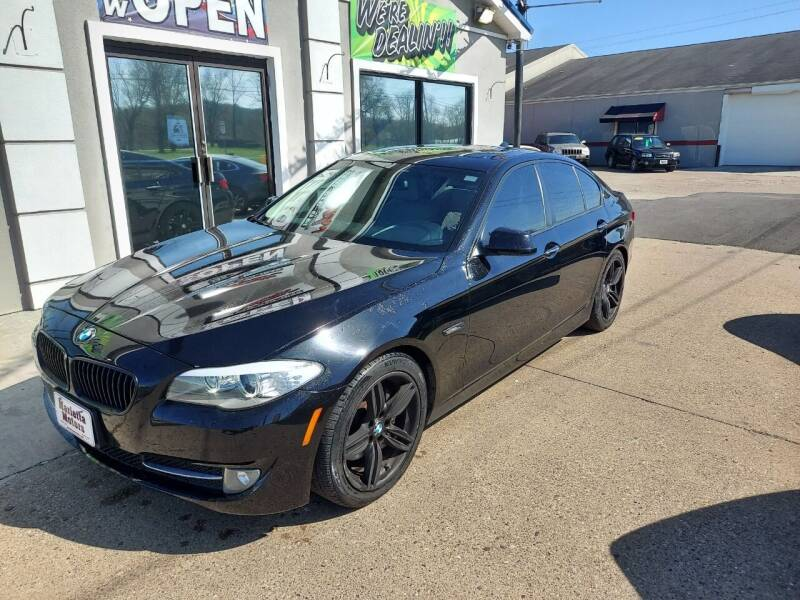 2011 BMW 5 Series for sale at MARIETTA MOTORS LLC in Marietta OH