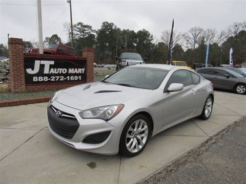 2013 Hyundai Genesis Coupe for sale at J T Auto Group in Sanford NC