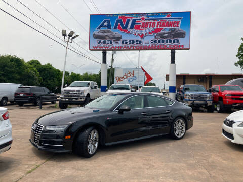 2017 Audi A7 for sale at ANF AUTO FINANCE in Houston TX