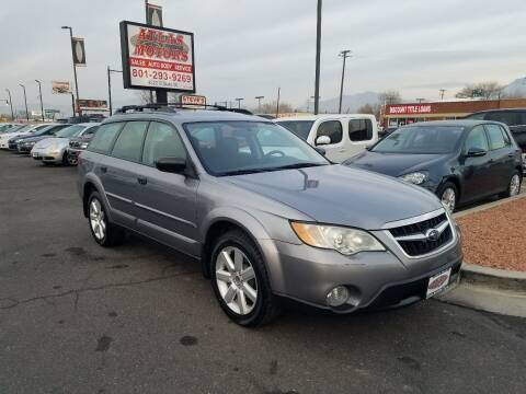 2009 Subaru Outback for sale at ATLAS MOTORS INC in Salt Lake City UT